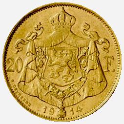 20-francs-albert-belgie-achterzijde