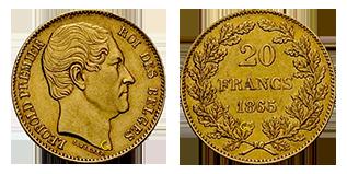 20-francs-belgie-leopold-I