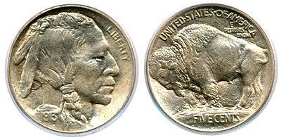 5 cent buffalo