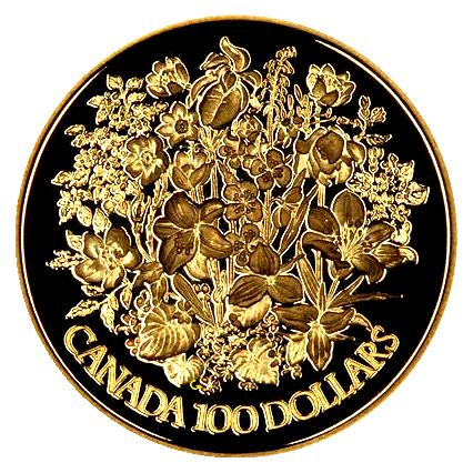 Canada-100-dollar-zilver-jubileum-1952-1977