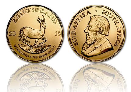 Gouden Krugerrand 1 Troy ounce