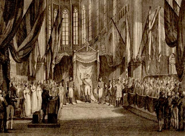 Inhuldiging-Koning-Willem-I
