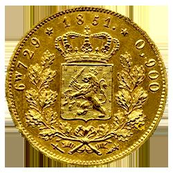 Koning-Willem-III-Negotiepenning-nederland