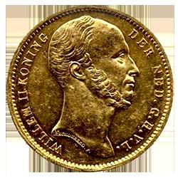 Koning-willem-II-10-gulden