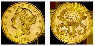 golden-20-dollar-coronet-head-amerika