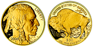 golden-50-dollar-american-buffalo