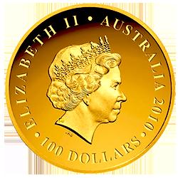 golden-koala-australian-100-dollar-elizabeth-II