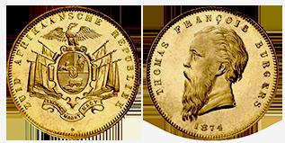 gouden-1-pound-Thomas-Francois-burgers-zuid-afrika