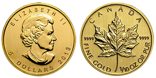 gouden-maple-leaf-5-dollar-1-10-oz-canada