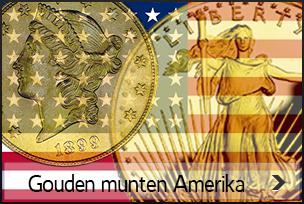 gouden munten Amerika