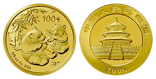 gouden-panda-100-yuan-1-4-oz-china