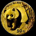 gouden-panda-50-yuan-1-10-oz-voorzijde