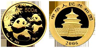 gouden-panda-500-yuan-1-OZ-China