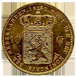 koning-willem-II-10-gulden-nederland