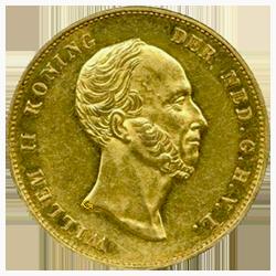koning-willem-II-dubbele-negotiepenning