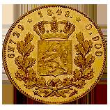 koning-willem-II-gouden--negotiepenning