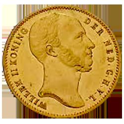 koning-willem-II-negotiepenning
