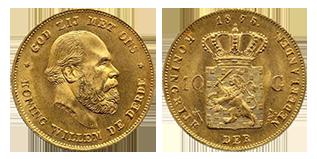 koning-willem-III-10-gulden-nederland