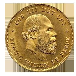 koning-willem-III-10-gulden