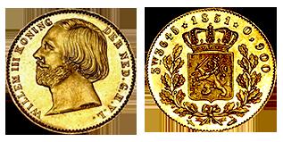 koning-willem-III-halve-negotiepenning-nederland