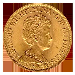 koningin-wilhelmina-10-gulden-hermelijnen-mantel