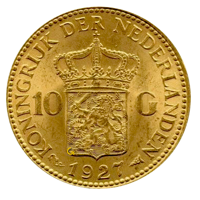 koningin-wilhelmina-10-gulden-nederland-type-4
