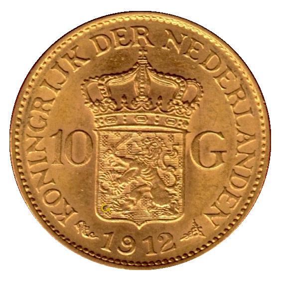 koningin-wilhelmina-10-gulden-type-3