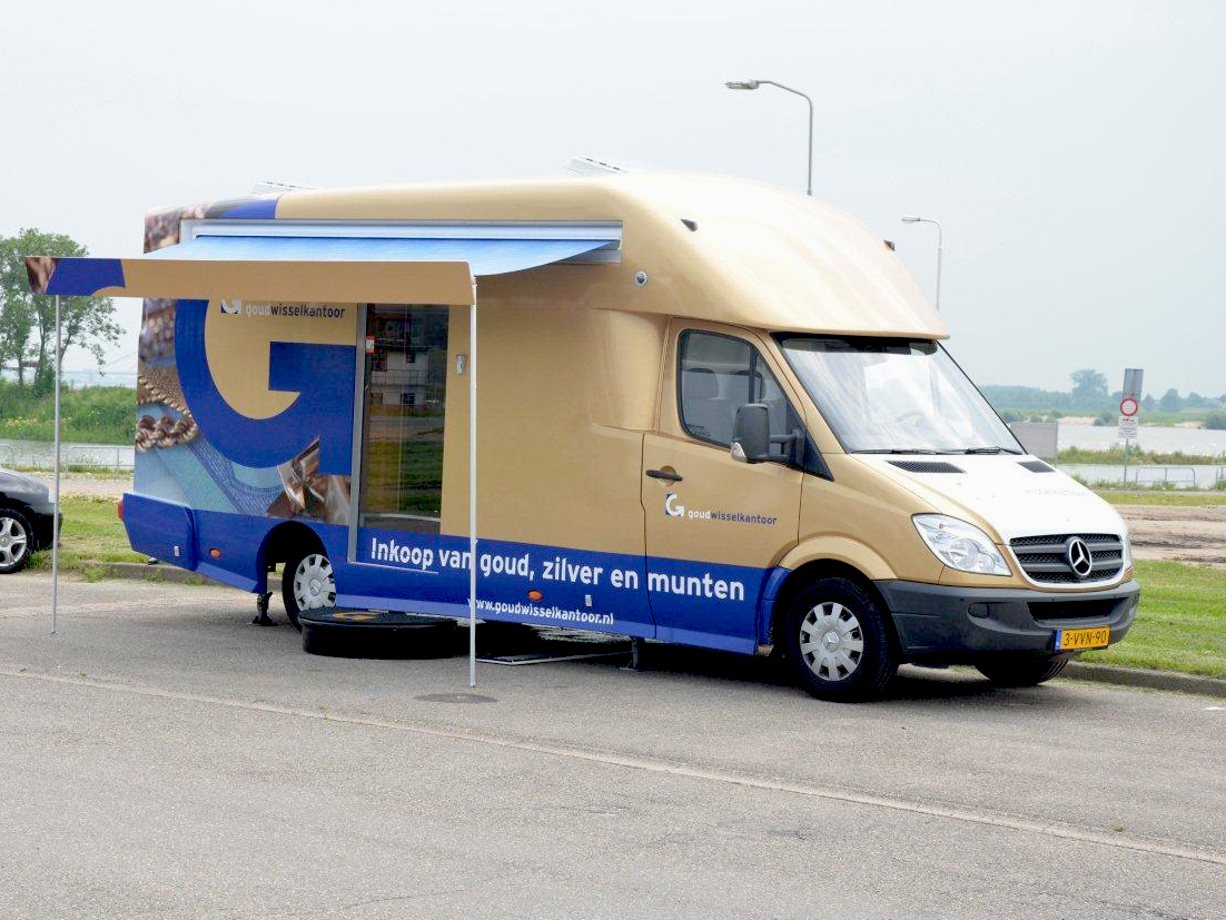 Mobiel kantoor tiel for Gulden interieur rotterdam openingstijden