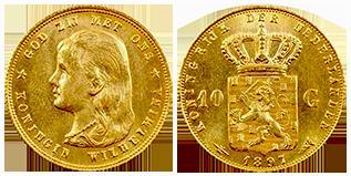 wilhelmina-gouden-10-gulden-lang-haar