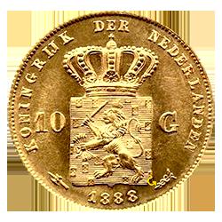 willem-III-10-gulden-1888