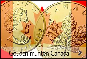 Gouden munten canada