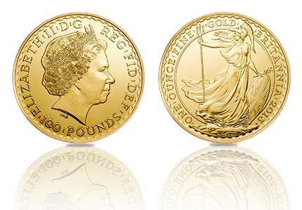 Gouden Britannia 100 Pounds 1 Troy ounce