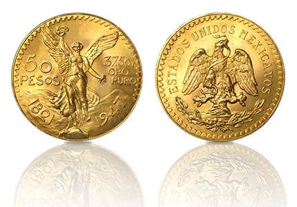 Gouden 50 Pesos 1.2 Troy ounce