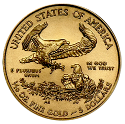 american-golden-eagle-5-dollar-1-10-oz-keerzijde