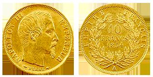 gouden-10-franc-napoleon-frankrijk