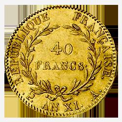 gouden-40-francs-frankrijk