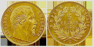 gouden-5-frank-napoleons-III-frankrijk