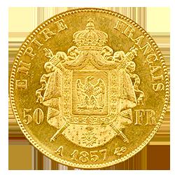 gouden-50-francs-napoleon-III-frankrijk