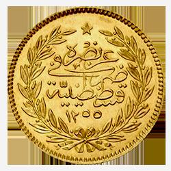 gouden-500-kurush-Abdul-Hamid-II-turkije