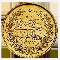 gouden-500-kurush-Muhammed-Reshat-turkije