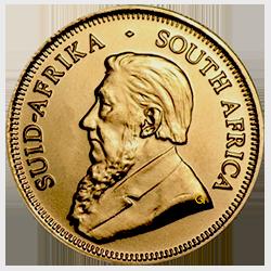 gouden-krugerrand-1-4-oz-voorzijde