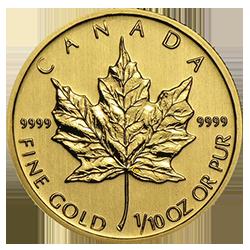 gouden-maple-leaf-5-dollar-1-10-oz-keerzijde