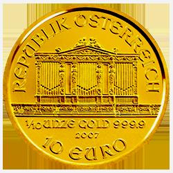 gouden-philharmoniker-1-10-oz-voorzijde