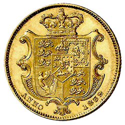 sovereign-william-IV-achterzijde