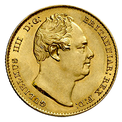 sovereign-william-IV-voorzijde