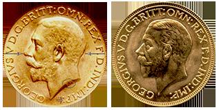 verschillen-voorzijde-gouden-sovereign-george-V