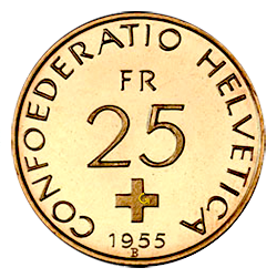 Gouden-25-Francs-Libertas-zwitserland