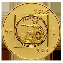 gouden-100-francs-1848-1998