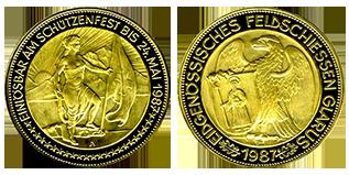 gouden-1000-francs-schutzenfest-zwitserland
