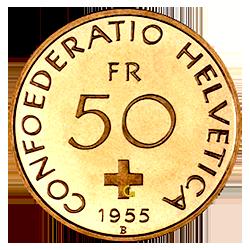gouden-50-francs-1955-1959-zwitserland